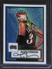 2005-06 Topps 1952 Style Refractor #112 Allen Iverson No 57 of 299