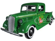 "1937 FORD PICKUP TRUCK GREEN ""COCA COLA"" 1/24 MODEL BY MOTORCITY CLASSICS 424001"