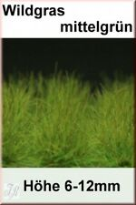 Reality In Scale 1:35 54mm Grass Tuft XL Mid Green 6-16mm Tall 40 Tufts #GL016
