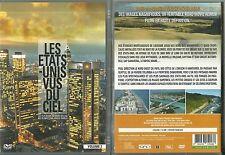 DVD - LES ETATS UNIS D' AMERIQUE VUS DU CIEL -LES PLUS BEAUX PAYSAGES COMME NEUF