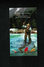 2005 FISHING FLIES CANADA STAMPS  BOOKLET  #  2088 a to d ** BK306 L950