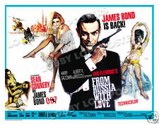 FROM RUSSIA WITH LOVE LOBBY CARD POSTER BQ 1964 JAMES BOND SEAN CONNERY
