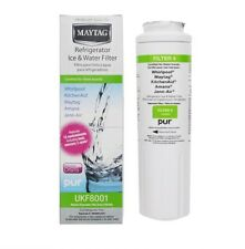 Whirlpool 4396395 UKF8001 Every Drop 4 Refrigerator Water Filter White 1-Pack