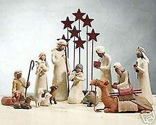 Demdaco Willow Tree Nativity 14 Piece Set