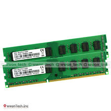 16GB 2x8GB PC3-12800 DDR3-1600 240pin Desktop Memory For AM3 AM3+ 990FX 990X 970