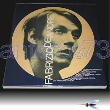 "FABRIZIO DE ANDRE ""VOLUME 3"" 45RPM MASTER BOX DOPPIO LP LIMITED 500"