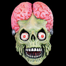 Mars Attacks Martian Alien Full Head Adult Latex Halloween Mask