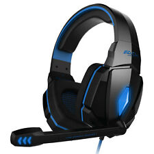 KOTION EACH G4000 LED USB+3.5mm Stereo Gaming Headset Headphone for PC Laptop US