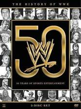 History Of The WWE 50 Years of Sports Entertainment [DVD ,3 Discs Box set ],WWE