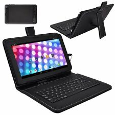 "XGODY 9"" Quad Core Dual Camera Google Android 4.4 Tablet PC A33 w/ Keyboard 8GB"