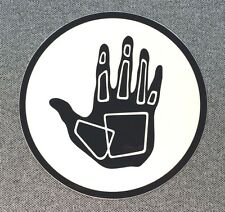 BODY GLOVE Sticker Surfboard Decal 4in black circle si