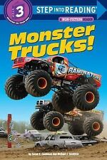 Step into Reading Ser.: Monster Trucks! by Susan E. Goodman (2010, Paperback)