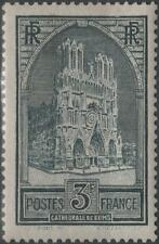 "FRANCE STAMP TIMBRE N° 259 "" CATHEDRALE REIMS 3F TYPE I "" NEUF xx TTB  H248"