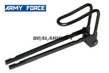 Army Force Metal Rectractable Stock For WELL G11 / KSC M11A1 (Hard Kick) GBB SMG