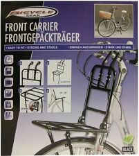 Front luggage carrier in black Bicycles, Bike pannier bike