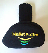 Mallet putter cover head cover suede with sock new