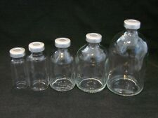 5 x Clear 30 ml Depyrogenated and Sterile Vials.UK Stock, Free P&P. Mix HCG Etc