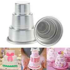 DIY Mini 3-Tier Cupcake Pudding Schokoladen Kuchenform Backen Wannen Form Partei