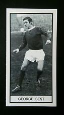 MANCHESTER UNITED - GEORGE BEST - Memory Lane UK trade card