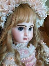 Breathtaking Bebe Antique FRENCH Doll JUMEAU BRU Dress. Perfect Bisque��