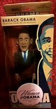 2007 Barack Obama Action Figure with a HTF Women for Obama Button