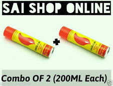 Combo of 2 - New (200ML + 200ML) universal butane gas fuel for all lighters..