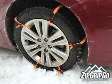 Cleated Tire Traction Aid Strap Chain for Car Van SUV Getting Unstuck Snow Ice
