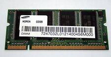 MODULO RAM SODIMM Samsung DDR RAM 266MHz 256MB USATA OTTIMO STATO EL1 38271
