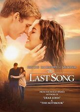 The Last Song by Miley Cyrus, Liam Hemsworth & Julie Anne Robinson DVD Format
