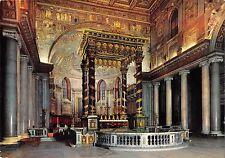 BT1527 roma basilica di s marie maggiore interno  italy