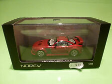 NOREV 1:43 - MG XPOWER SV-R  -   MG-X POWER    - IN  ORIGINAL  BOX