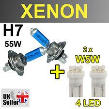 H7 55W Xenon Super Bianco Lampadine W5W 4 LED LUCE ANTERIORE VAUXHALL ASTRA H GTI