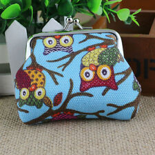 New Women Lovely Style Lady Small Wallet Hasp Owl Purse Clutch Bag L