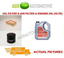DIESEL OIL AIR FILTER KIT + FS 5W40 OIL FOR RENAULT SCENIC 1.5 95 BHP 2010-