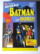 DC Direct Silver Age Batman and Robin Rooftop NEW