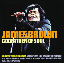 Godfather of Soul by James Brown CD