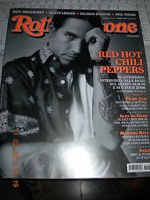 ROLLING STONE 31 2006 RED HOT CHILI PEPPERS PEARL JAM OASIS PAUL MCCARTNEY RIVA