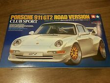 Tamiya 1/24 Tamiya 911 GT2 Road Version Club Sport Great Condition Rare