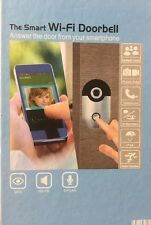 WiFi Wireless Video Doorbell Phone IP66 Home Security Detection BLACK YC