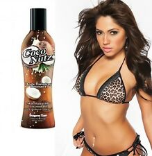 NEW SUPRE TAN COCO NUTZ DARK TANNING BRONZER LOTION CREAM + FREE SUNBED GOGGLES