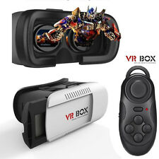 Virtual Reality VR Headset 3D Glasses With Remote for Android IOS iPhone Samsung