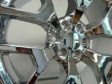 Set (4) 20x9 GMC 1500 Sierra Chrome Denali Tahoe Chevy Silverado Wheels Rims