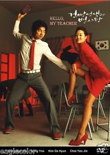 Hello My Teacher Korean Drama (4DVDs) Excellent English & Quality!