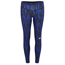 MyProtein Athletic Frauen Leggings M blue structure Fitness tights Leggins Woman