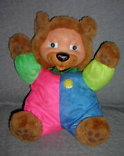 BABY'S  'n THINGS  LIGHT UP MUSICAL BEAR   ** VINTAGE **     SIZE: 12 INCHES