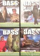 Lindner Bass Fishing Strategies Tips Weed Jig Finding Electronics  4 DVD Lot NEW