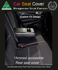 Seat Cover Fits Hyundai Elantra Rear Armrest Access Premium Waterproof Neoprene