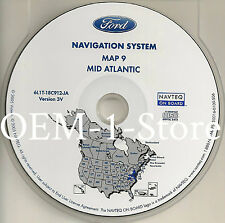 2003 LINCOLN NAVIGATOR SPORT UTILITY SUV NAVIGATION MAP DISC CD 9 MID ATLANTIC