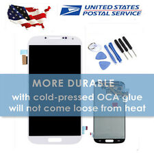 For Samsung Galaxy S4 i9500 i337 i9505 White LCD Screen Replacement Digitizer