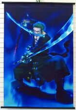 One Piece Zoro Zorro Anime Manga Wallscroll Stoffposter 60x90cm Neu